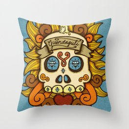 Guendaguti Throw Pillow