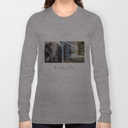 Charleston SC No. 4  Rainbow Row Long Sleeve T-shirt