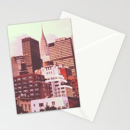 Chrysler Building from 2nd Ave Stationery Cards
