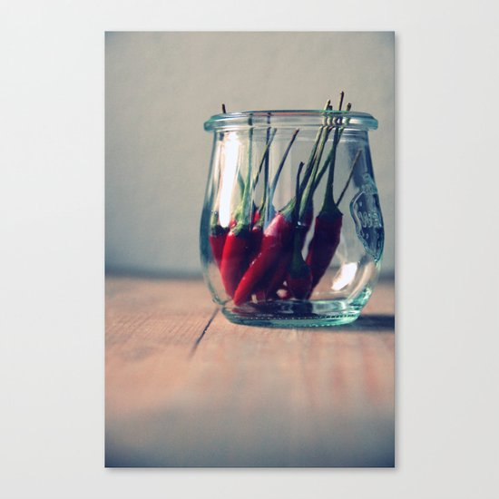 sweet chili  Canvas Print