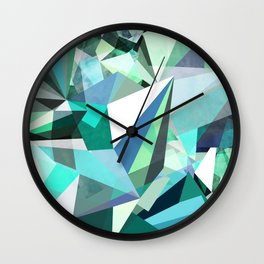 Colorflash 8 mint Wall Clock