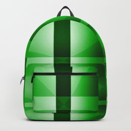 Shades of Green Lines Backpack