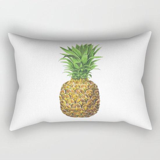 Pineapple, tropical fruit Rectangular Pillow