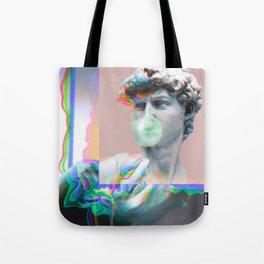 Vaporwave Glitch Tote Bag