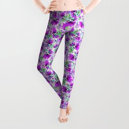 thinking 'bout violet Leggings