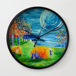 Duck Creek, Kanab, Lake Powell Wall Clock