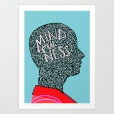 Mindfulness Grows Art Print