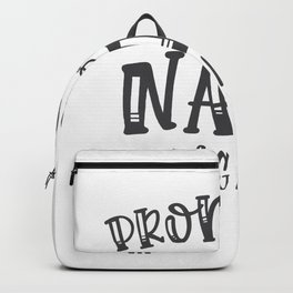 Promoted To Nana Again Backpack
