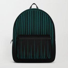 Linear Emerald Black Backpack