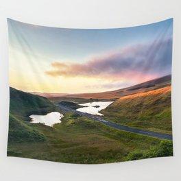 Vanishing Lakes,Ireland,Northern Ireland,Ballycastle Wall Tapestry