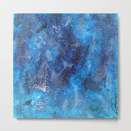 Blues Cosmos #3 Metal Print