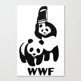 WWF Canvas Print