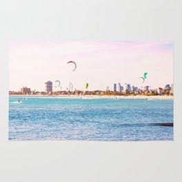 Windsurfing at St Kilda Rug