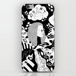 Charlie Don't Surf iPhone Skin