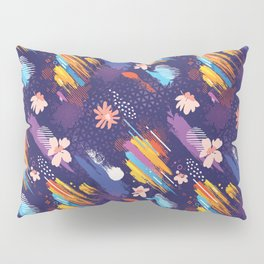 Abstract Free Art Expression Pillow Sham