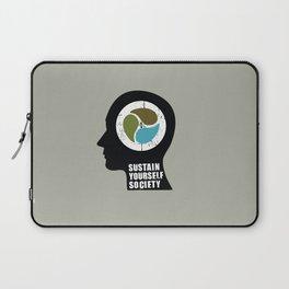 sustain yourself society Laptop Sleeve