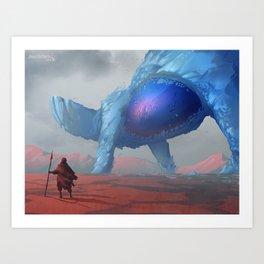 Arctic Giant Art Print