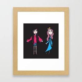Lalala | Elisavet and Sofia Framed Art Print