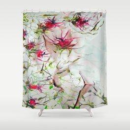 Beautiful nude - DornXchen Shower Curtain
