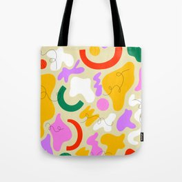 Squiggly Pops Tote Bag