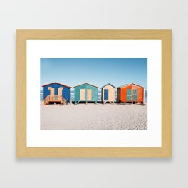 Muizenberg Beach Framed Art Print
