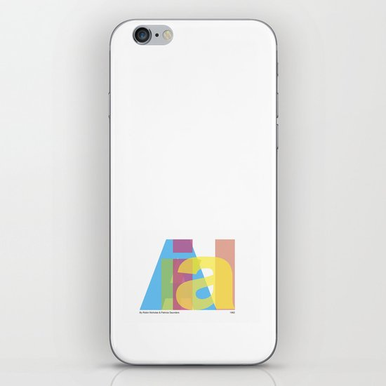 Arial iPhone & iPod Skin