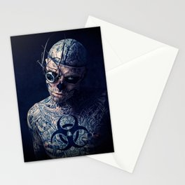 Zombie Boy 01 Stationery Cards