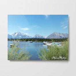 Grand Teton National Park. Landscape photography. Metal Print