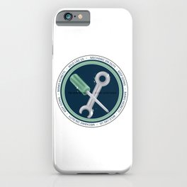 Banks Badge iPhone Case
