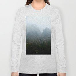 Misty Mountains of Tasmania Long Sleeve T-shirt