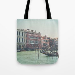 looking along the Grand Canal ... Tote Bag