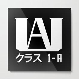 UA Academy 1-A (White) Metal Print