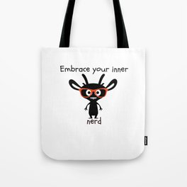 Embrace Your Inner Nerd Tote Bag