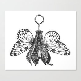 Pear Fly Canvas Print