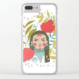 Almita Clear iPhone Case
