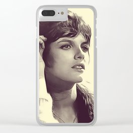 Katharine Ross Clear iPhone Case