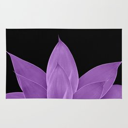 Purple Agave #1 #tropical #decor #art #society6 Rug