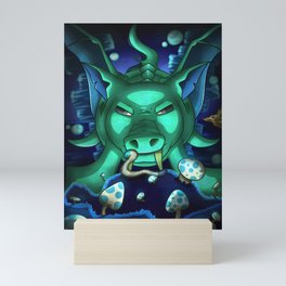 Duke Fishron- Terrarias Mini Art Print