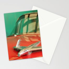 Silver plane Stationery Cards
