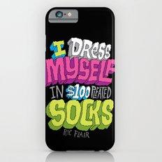 $100 Pleated Socks iPhone 6s Slim Case