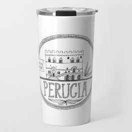 Palazzo dei Priori, Perugia Travel Mug