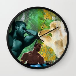 The Groom Stripped Bare by His Bachelors, Even (It's Complicated) Wall Clock