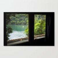 outdoor Canvas Prints featuring Outdoor Paradise by Amanda Costa Fotografia