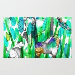 Jungle Green Rug