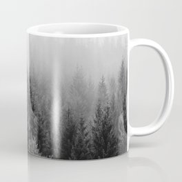 Forest, Black and White Coffee Mug