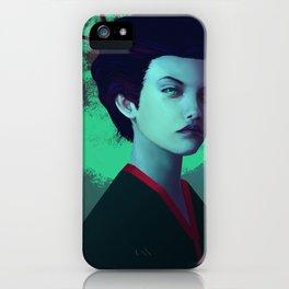 Moon Girl iPhone Case