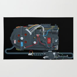 Proton pack, Ghostbusters Rug