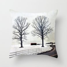 Bended Throw Pillow