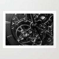 Time Ticking Art Print