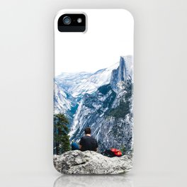 Brian Over Yosemite iPhone Case